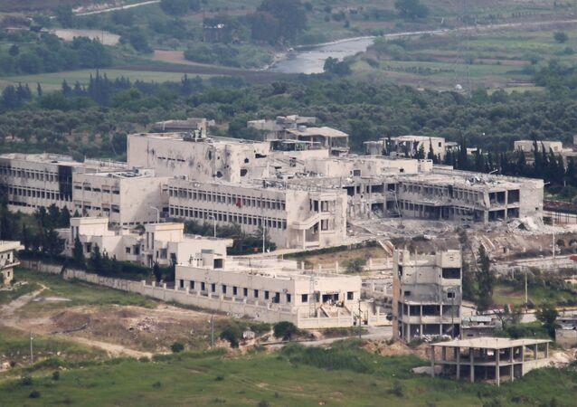 Hospital em Jisr Al Chughur, na Síria.