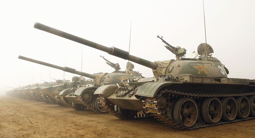 Tanques chineses Tipo 59