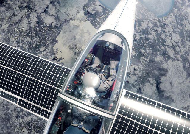 Avião suíço SolarStratos, movido a energia solar, para voos à estratosfera (imagem referencial)