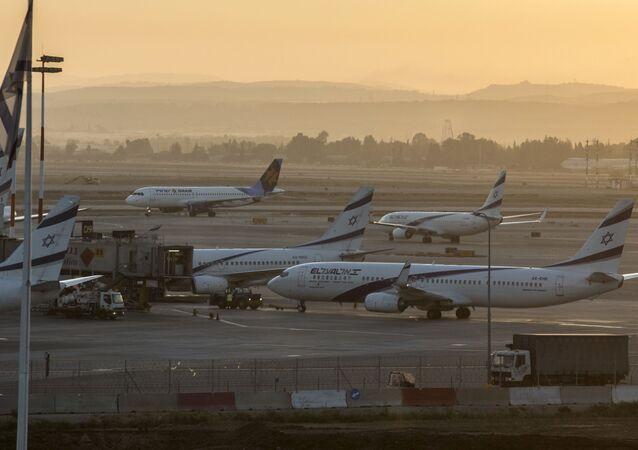 Aeroporto Internacional Ben Gurion de Tel Aviv, Israel (foto de arquivo)