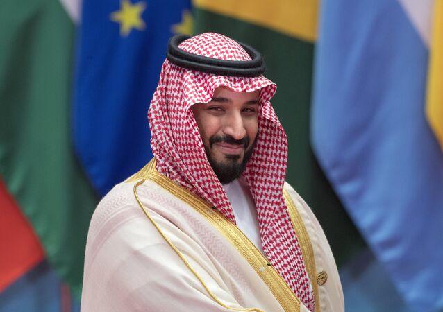 Mohammad bin Salman Al Saud, príncipe herdeiro da Arábia Saudita