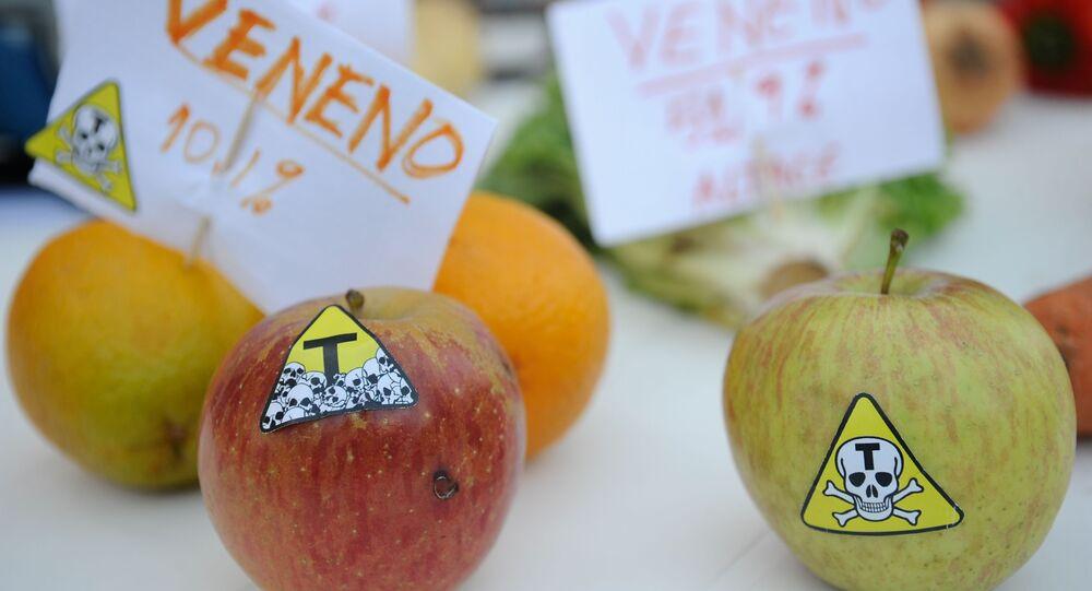 Ato da Campanha Permanente contra os Agrotóxicos e pela Vida no Rio de Janeiro