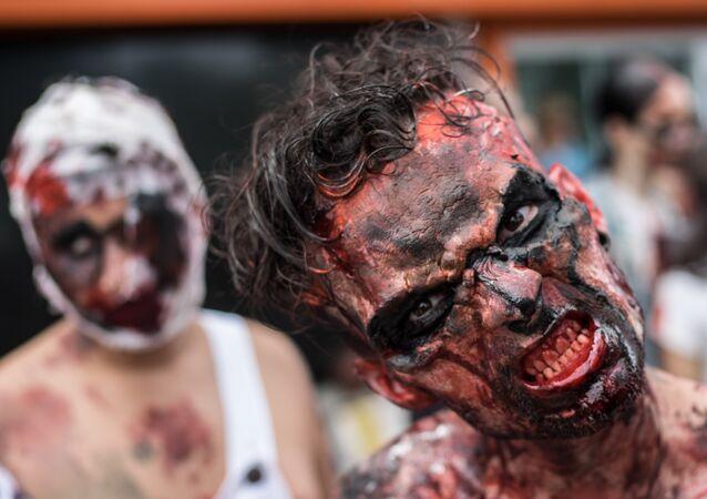 Parada de zumbi no Rio de Janeiro (foto de arquivo)