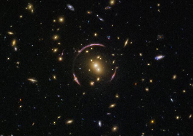 Imagem de galáxias tirada pela sonda (imagem referencial)