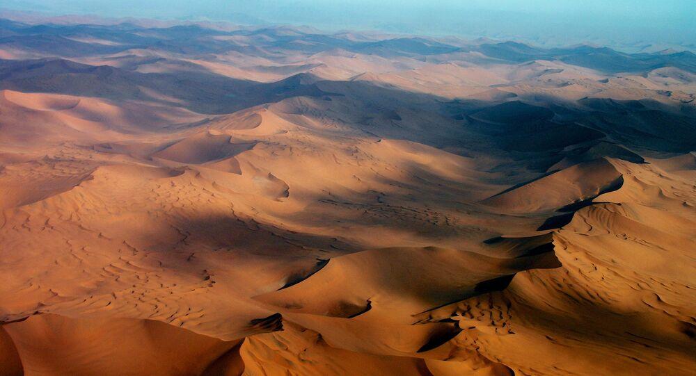 Deserto do Namibe, foto de arquivo