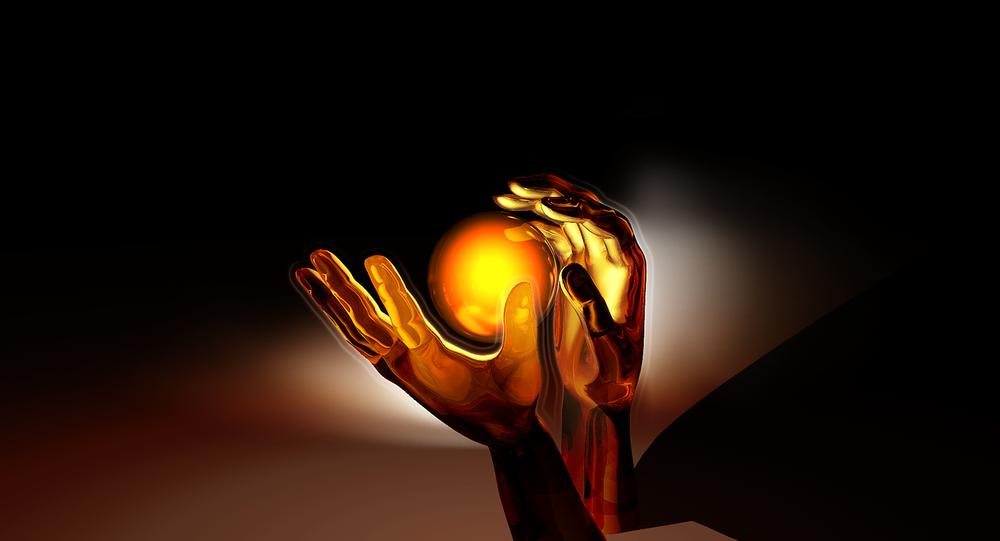 Bola em mãos