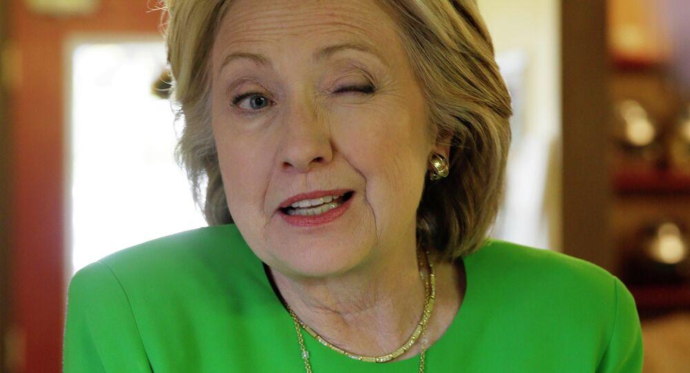 Hillary Clinton, ex-secretária de Estado dos EUA e pré-candidata à presidência