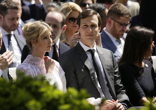 Ivanka Trump e seu marido, Jared Kushner