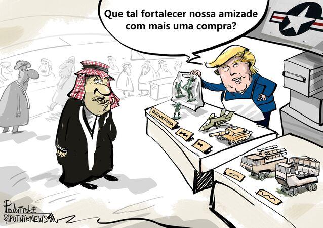 Americanos, sauditas, negócios à parte