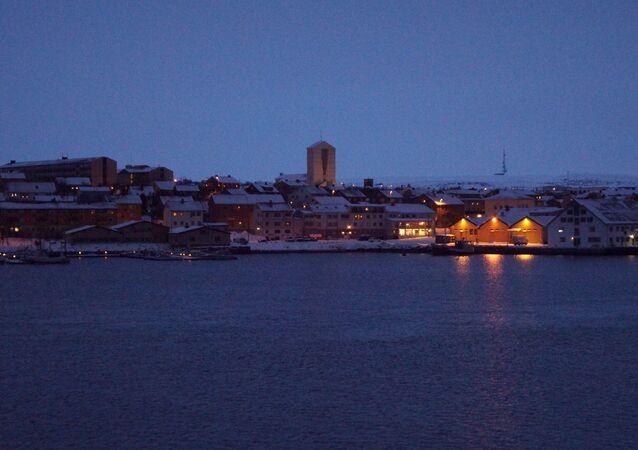 Cidade norueguesa de Vadso