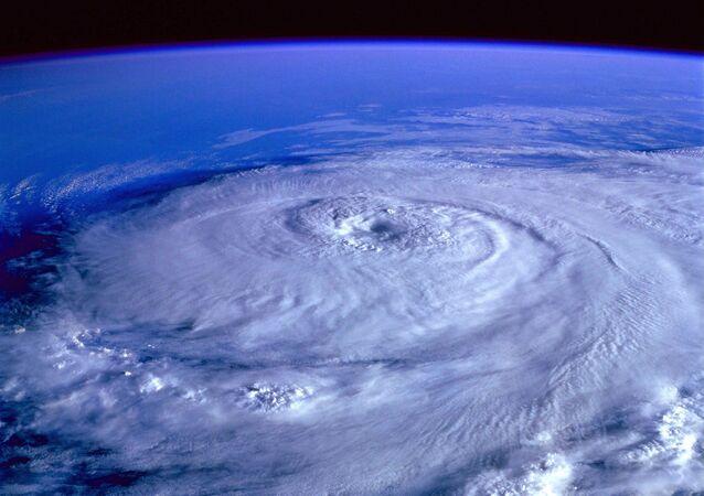 Vista da Terra desde espaço