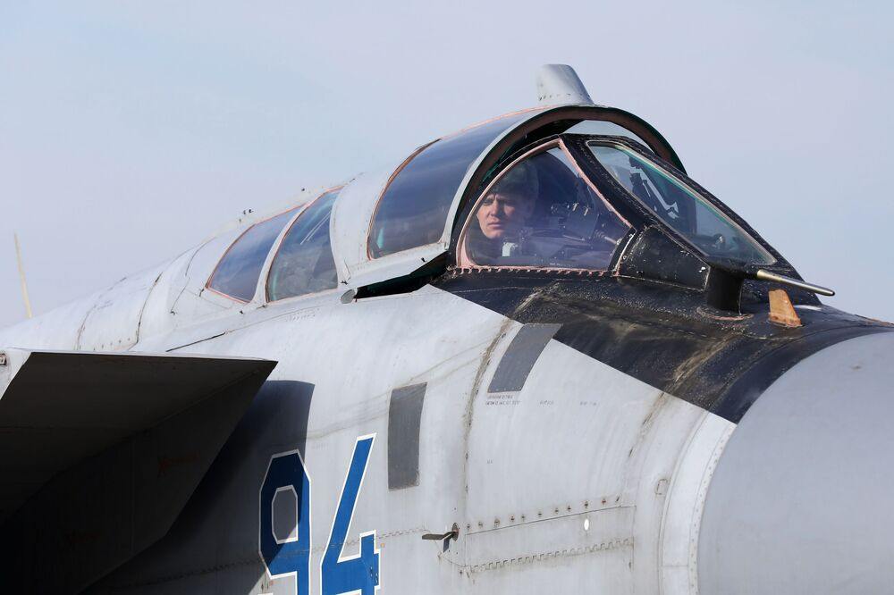 Caça MiG-31 em Primorie