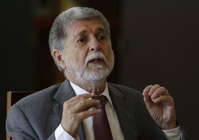 Celso Amorim, diplomático brasileño