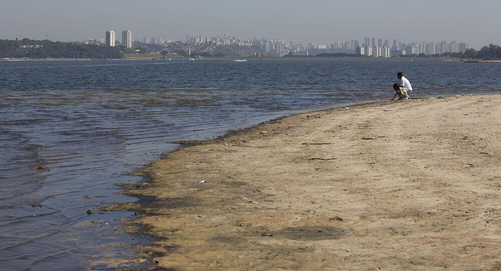 Falta de água no Brasil