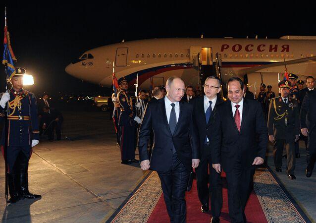 Visita do Presidente Putin ao Egito