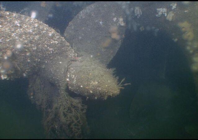 Hélice de submarino U-3523