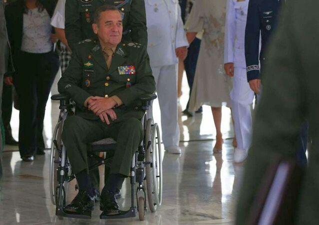 General Eduardo Villas Bôas, comandante do Exército brasileiro