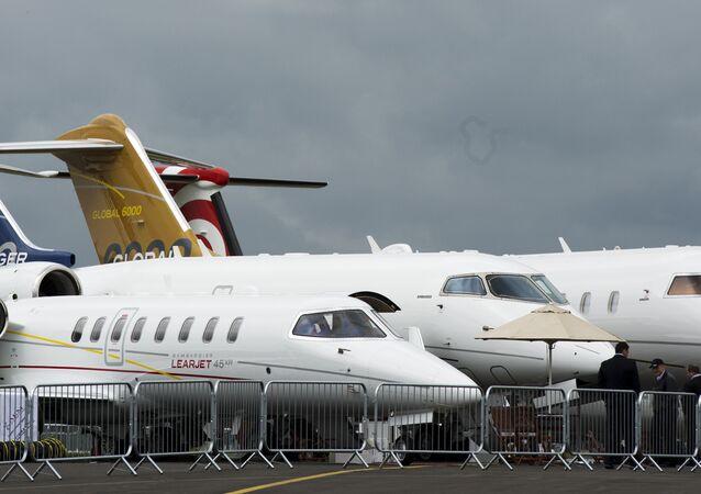 Jatos da Bombardier concorrem com modelos fabricados pela Embraer