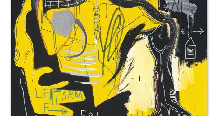Untitled (Bracco di Ferro), 1983/Jean-Michel Basquiat (1960-1988)