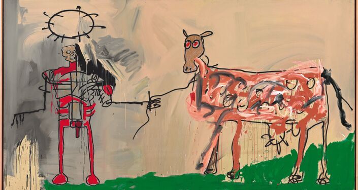 O campo próximo a outra estrada, 1981/Jean-Michel Basquiat (1960-1988)