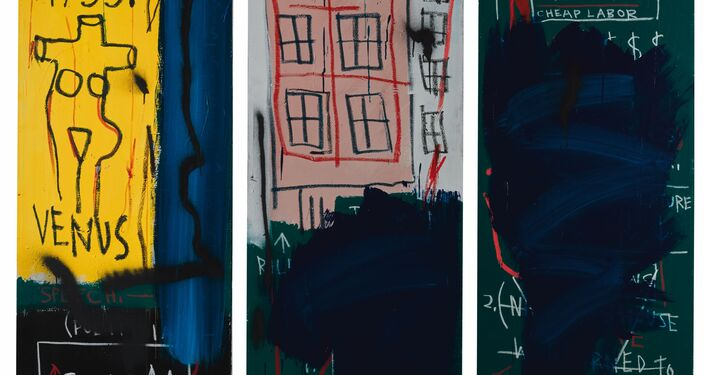 Sem título,1983/ Jean-Michel Basquiat (1960-1988)