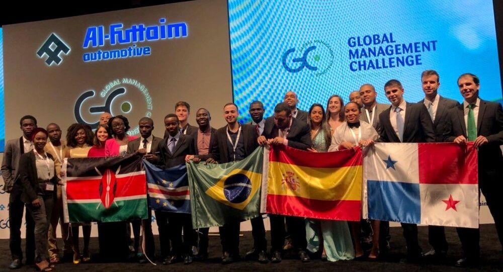 Brasileiros disputaram a final do Global Management Challenge (GMC)