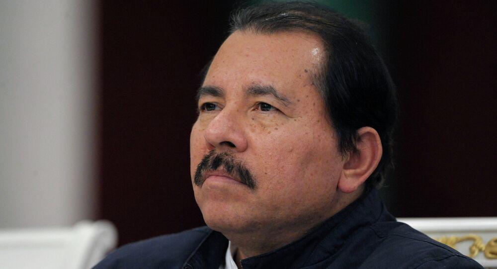 Daniel Ortega em Moscou.