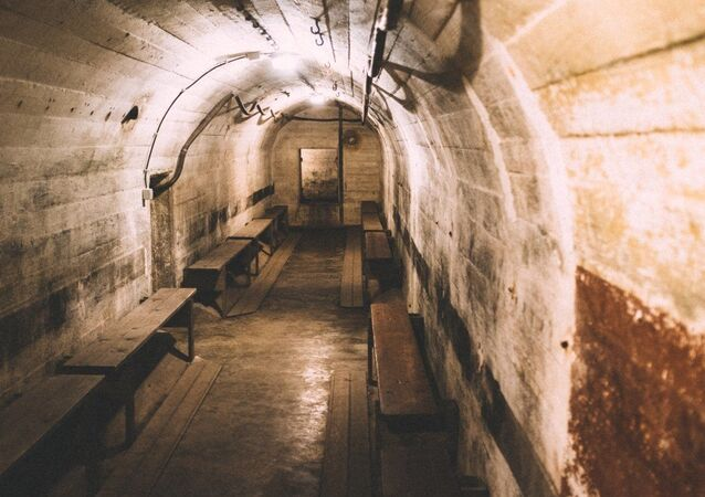 Bunker subterrâneo (imagem referencial)