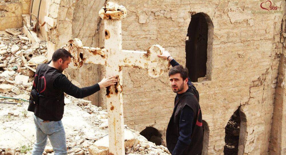 SOS Chrétiens d'Orient em Deir Zzor