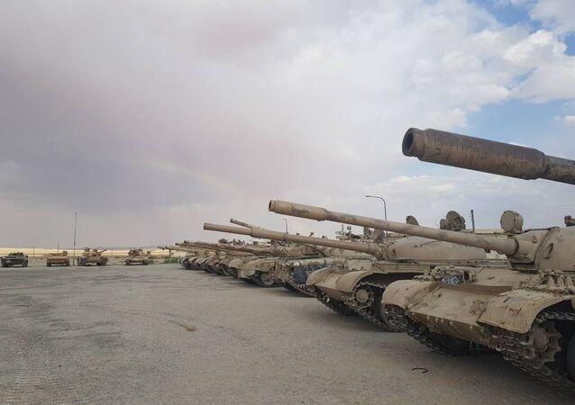 Armamento entregue ao exército sírio pelos grupos radicais