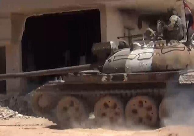 Exército sírio repele ataque da Frente al-Nusra e salva usina termoelétrica