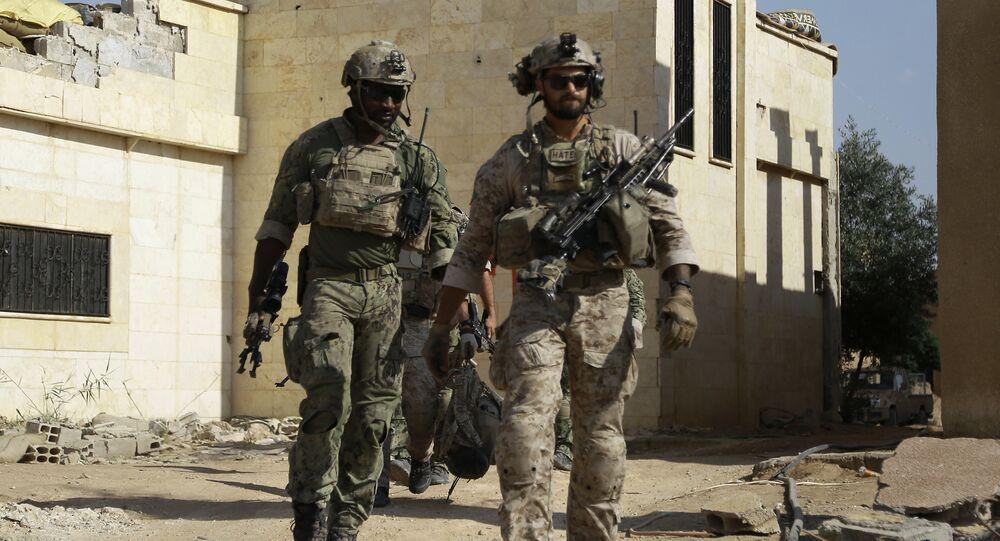 Soldados norte-americanos na Síria (foto de arquivo)