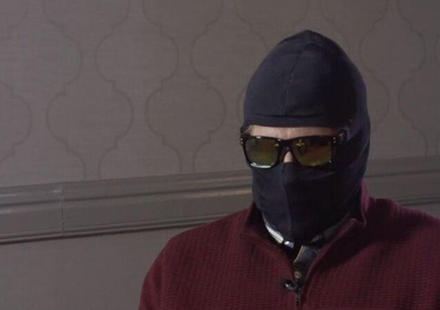 Grigory Rodchenkov durante entrevista ao canal BBC