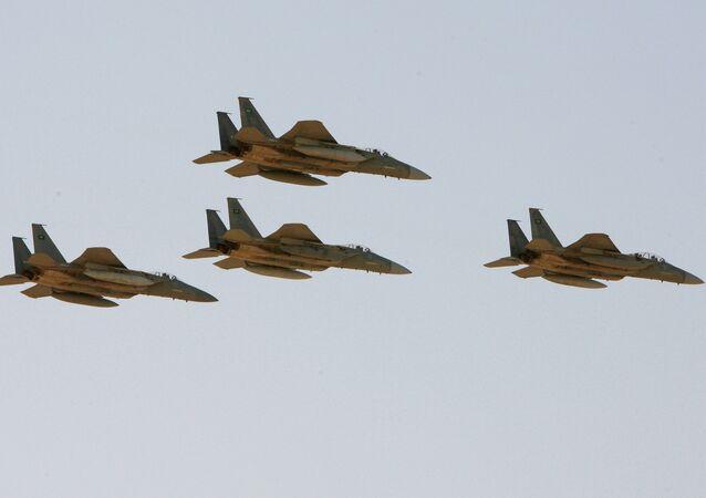 Caças F-15 da Força Aérea da Arábia Saudita