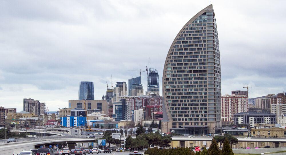 Trump Tower Baku (foto de arquivo)