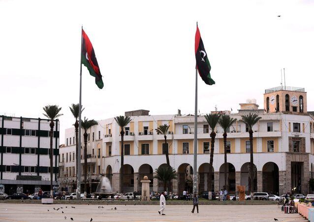 Praça dos Mártires, Trípoli, capital da Líbia
