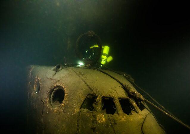 Submarino soviético Sch-317