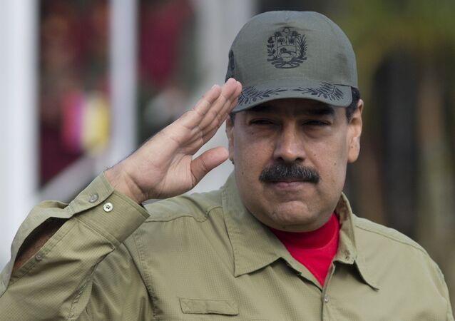 Presidente da Venezuela, Nicolás Maduro.
