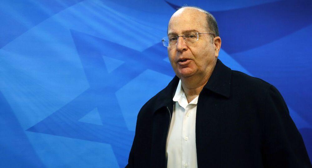 Israeli Defense Minister Moshe Yaalon (File)