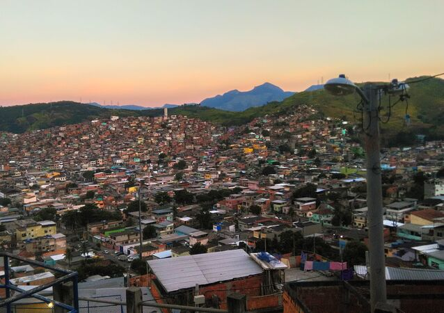 Morro do Caracol, favela do Complexo da Penha, Rio de Janeiro (arquivo)