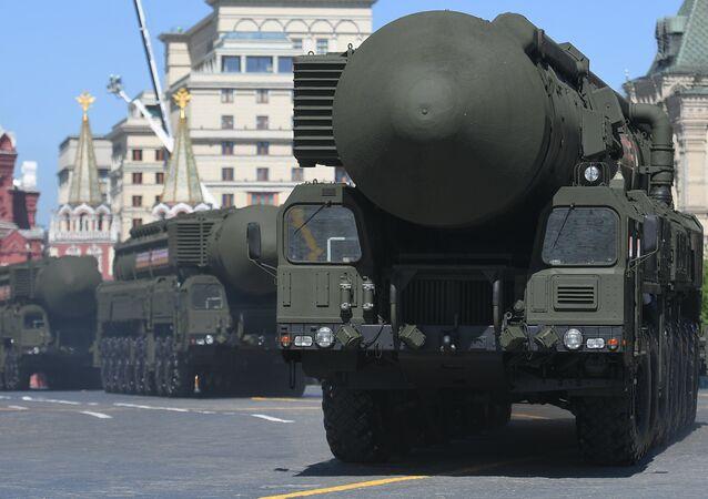 Plataformas autônomas de lançamento de mísseis balísticos Yars