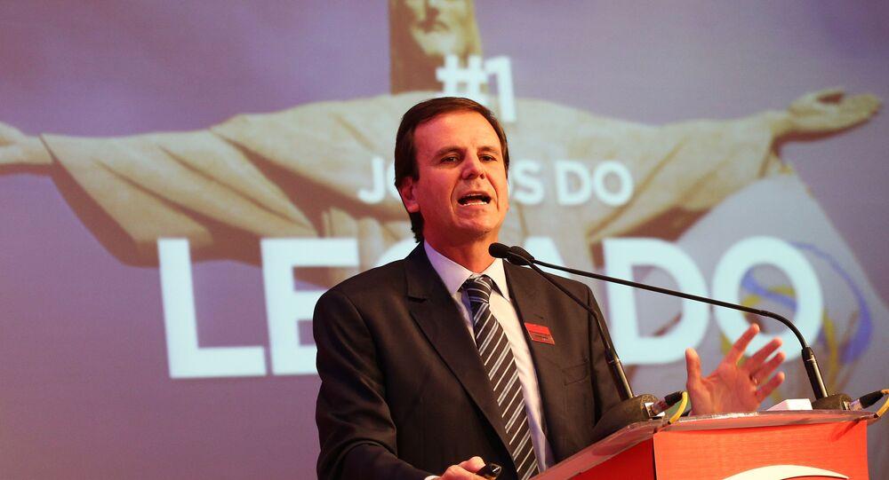 Eduardo Paes, prefeito do Rio de Janeiro.