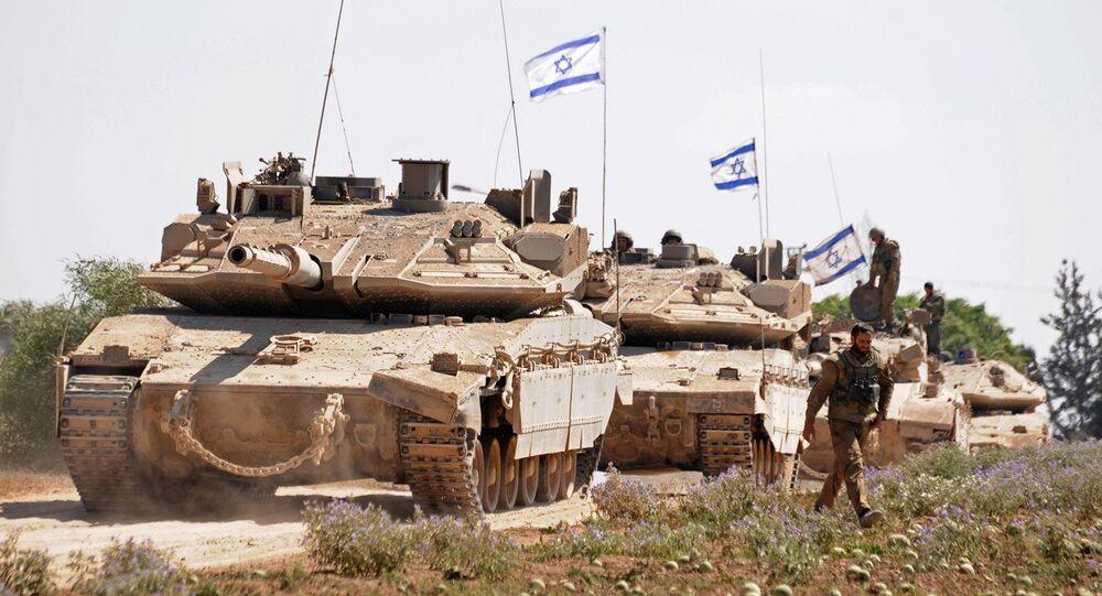 Soldados israelenses na fronteira com a Faixa de Gaza (arquivo)