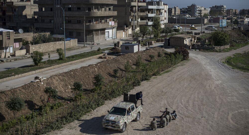 Província síria de Al-Hasakah (foto de arquivo)
