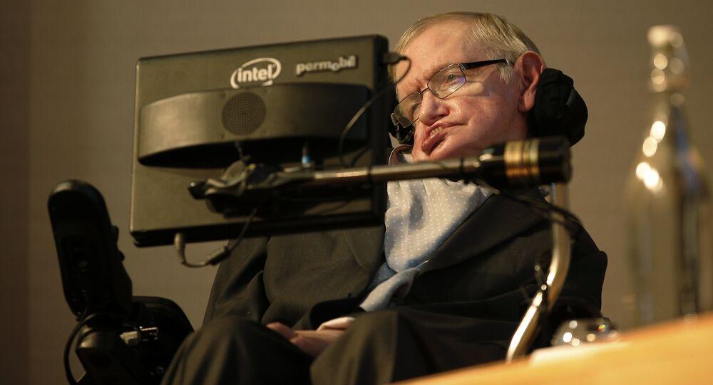 Cientista britânico, Stephen Hawking (foto de arquivo)