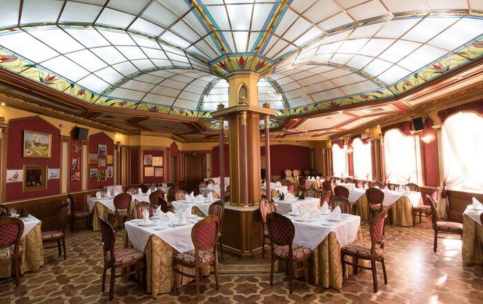 Casa da culinária tártara em Kazan