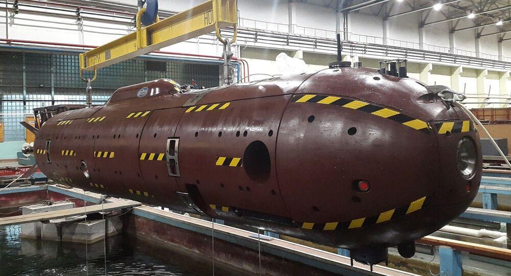 Submarino não tripulado russo Klavesin-2R