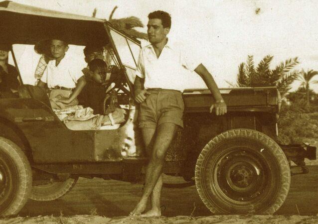 Eli Cohen no canal de Suez, 1956