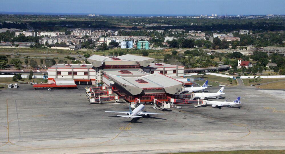 Aeroporto Internacional Joser Martí, em Havana, Cuba