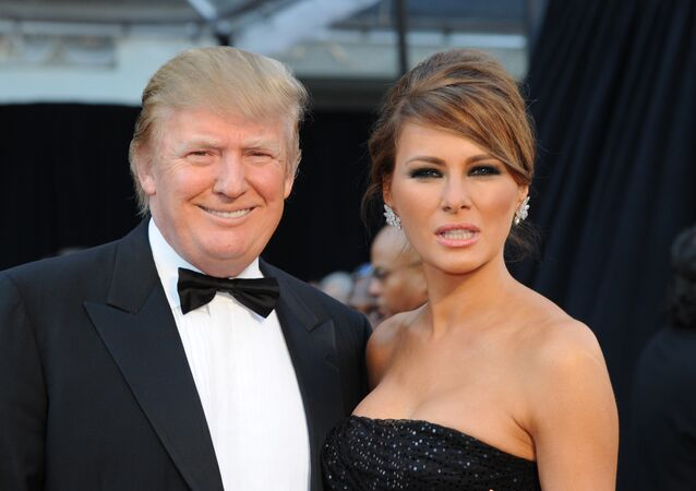 Donald Trump and his wife Melania arrives on the red carpet for the 83rd Annual Academy Awards held at the Kodak Theatre on February 27, 2011 in Hollywood, California.